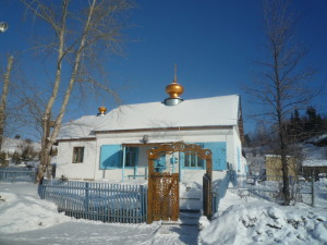наш храм зимой
